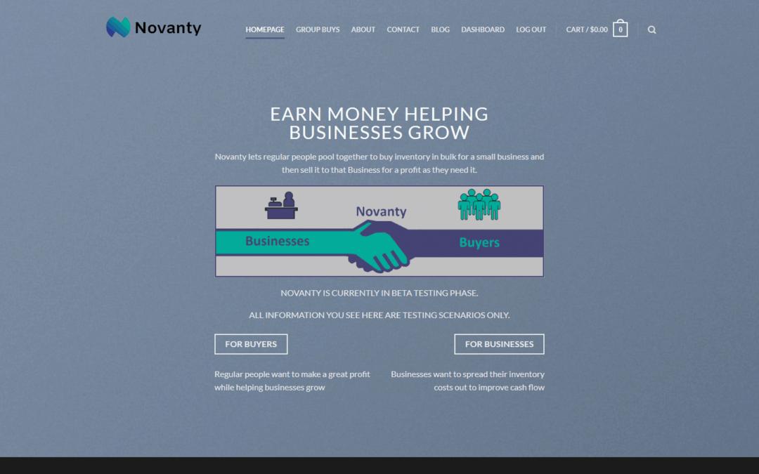 Novanty [Multi-Vendor Marketplace Development]